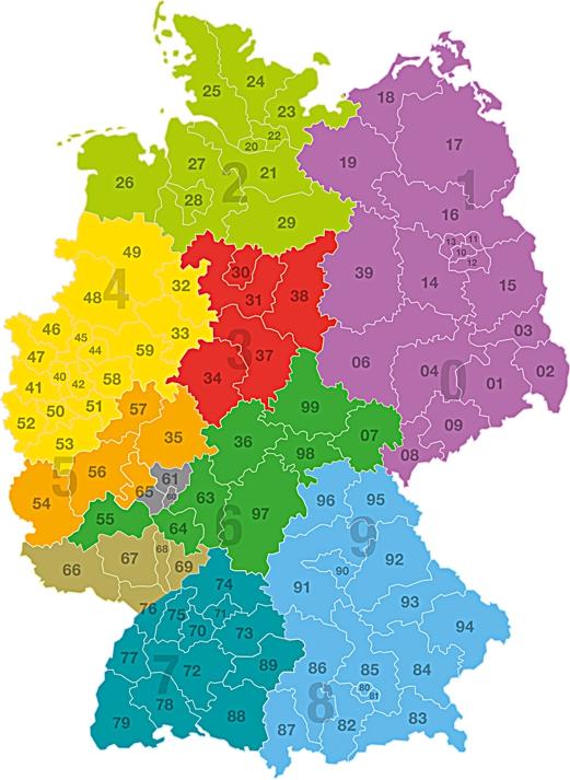Karte Nrw Plz.Gessler Gmbh Made In Germany Zuhause In Europa